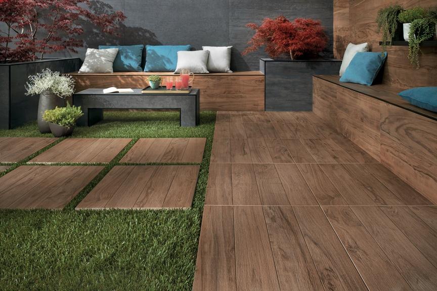 Les grandes tendances du carrelage for Carrelage bois exterieur