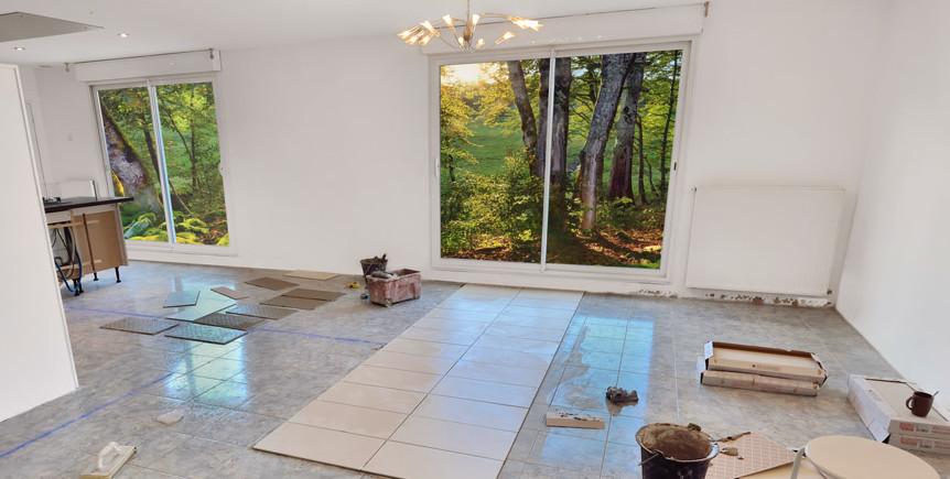 comment choisir entre ces trois fa ons de poser votre carrelage. Black Bedroom Furniture Sets. Home Design Ideas
