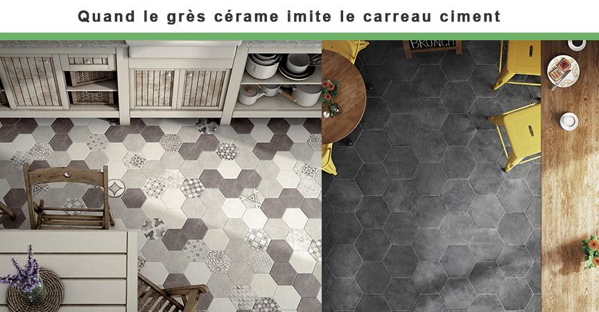 Le Carrelage Imitation Carreau Ciment